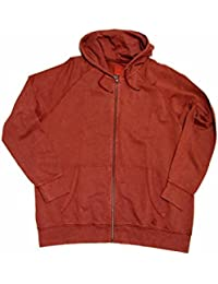 s.Oliver Herren Sweatshirt Jacke, rot, 15.509.43.8487, Übergröße bis 5XL