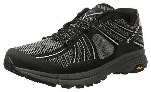 Columbia Mojave Outdry, Scarpe da Trail Running Uomo, Nero (Black/White), 44.5 EU