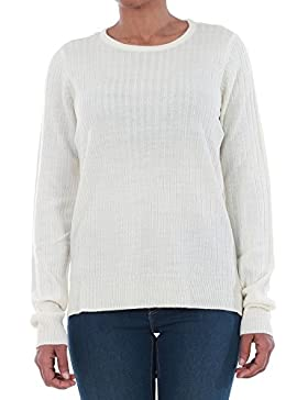 Jersey Vero Moda Mujer Beige 10193164 VMSIKA LS O-NECK BLOUSE NOOS - PRISTINE
