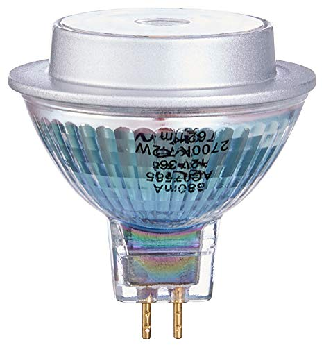 Osram LED Star MR16 Reflektorlampe, mit GU5.3-Sockel, nicht dimmbar, Ersetzt 50 Watt, 36° Ausstrahlungswinkel, Warmweiß - 2700 Kelvin, 1er-Pack -
