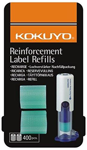 KOKUYO automatischer Lochverstärker Nachfüllpack mit 400 Ringen: Einfach und punktgenau anbringen