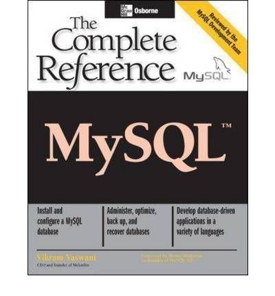 By Vaswani, Vikram ( Author ) [ MySQL By Jan-2004 Paperback