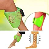 Brand New Density Collection Foot Massager Machine for Pain Relief Professional Leg Massager Blood Circulation Machine/Leg, Foot and Hand Massager Belt - Green