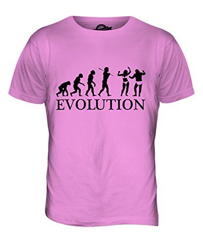 CandyMix Strand Party Evolution Des Menschen Herren T Shirt Rosa