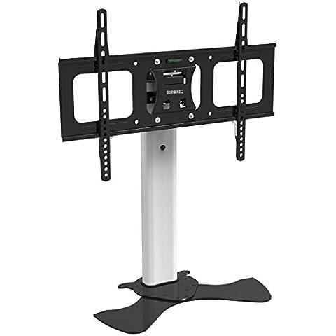 Duronic TVS1D1 - Soporte escritorio en cristal adecuado para TV/Plasma/LED/LCD/3D/Monitores entre (30
