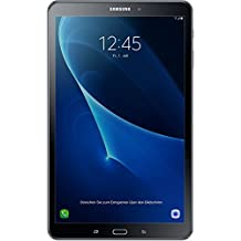 Samsung Galaxy Tab A T585 25,54 cm (10,1 Zoll) Tablet-PC (1,6 GHz Octa-Core, 2GB RAM, 32GB eMMC, LTE, Android 7.0) Schwarz