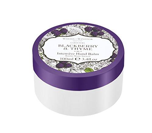 Woods of Windsor Blackberry und Thymian Intensive Hand Butter, 100ml - Amber Antibakteriell