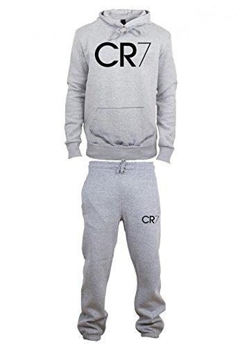Magic Custom Herren Trainingsanzug Grau Grau XS