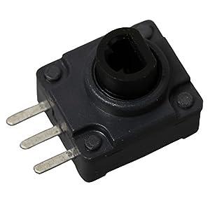 Timorn Xbox 360 Controller Ersatz LT/RT Tasten Schalter Set Set Schwarz