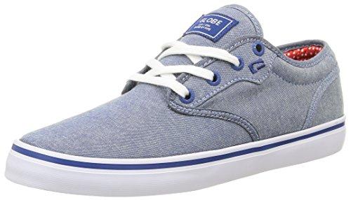 Globe Motley, Unisex-Erwachsene Sneakers Grau (Navy Chambray 13225)