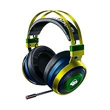 Razer Nari Ultimate Overwatch Lucio Edition Wireless Gaming Headset con HyperSense, Cuffie da Gioco Senza Fili, THX Spatial Audio Mircofono Retrattile con Bilanciamento Gioco/Chat, Nero