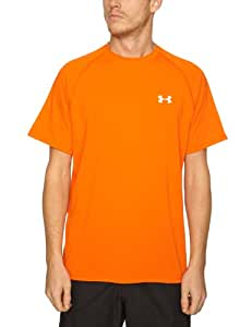UnderArmour Men's Tech Tee Short Sleeve - Medium Orange, Medium