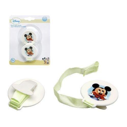 Disney - Disney Mickey Mouse - Lot de 2 Attache Tetine Sucette