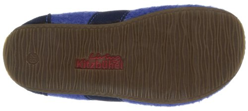 Living Kitzbühel T-Mod. uni 1446, Pantofole unisex bambino Blu (Blau (558 victoria blue))