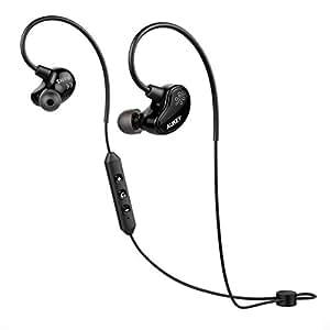 AUKEY Cuffie Sportive Bluetooth 4.1 Headset aptX Auricolari Wireless Stereo con Microfono per iPhone, Samsung, iPad ed altri Smartphone (EP-B29)