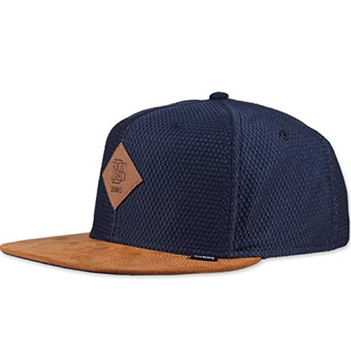 Djinns - Honey Knit (Navy) - Snapback Cap Baseballcap Hat Kappe Mütze Caps