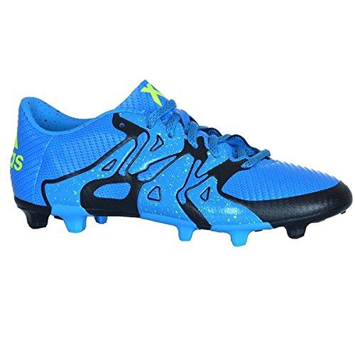 Adidas Performance X 15.4 Fg Sapatos Mens Futebol Solblu / Syello / Cblack