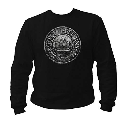 shirtmachine Gott mit Uns 1.WK Sweatshirt (XL) -