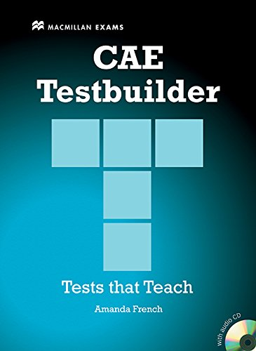 NEW CAE TESTBUILDER Sb Pk -Key: Student Book Pack Without Key