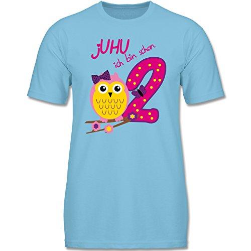 HU Ich Bin Schon 2-98 (2-3 Jahre) - Hellblau - F140K - Jungen T-Shirt (Oster-shirts Für Jungen)