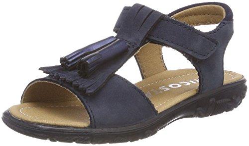 Schuhe Celine (Ricosta Mädchen Celine Offene Sandalen, Blau (Nautic), 26 EU)