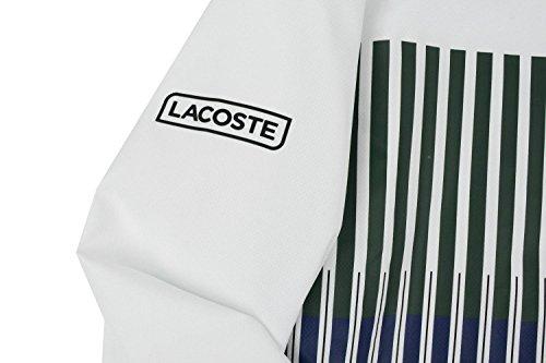LACOSTE SPORT - Herren Sportanzug - WH7994 weiß - grün - blau
