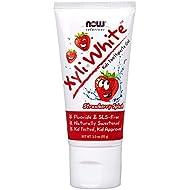 XyliWhite Kids Toothpaste Gel, Fluoride-Free, Strawberry Splash, 3.0 oz (85 g)