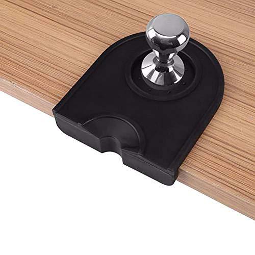 EMHU Silikon Espresso Tamp Matte Kaffee Tampering Ecke Matte Pad Tool Rutschfeste Kaffee Stampfen Werkzeug (Espresso-ecke Schreibtisch)