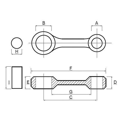 Prox Pleuel Satz f. KTM Duke II 640 E 03.6519