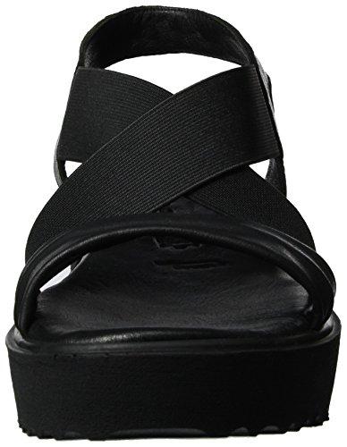 Tamaris 28219, Sandales Bout Ouvert Femme Noir (Black 001)