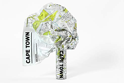 Cape Town Crumpled City Map (Crumpled City Maps)