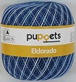 50g Puppets eldorado - Farbe: 54 - blau meliert -