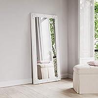 Carran Furniture Kaldors Leaner White Frame Mirror 80 x 175cm