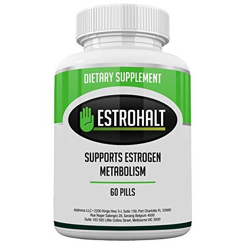 Östrogen-blocker (Estrohalt- DIM-Zusatz (Diindolylmethan) und Indol-3-carbinol Östrogen-Östrogenblocker-Pillen für Frauen und Männer | Natürlicheittel zur Verringerung der Östrogendominanzs)