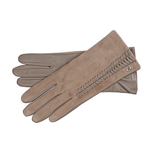 Roeckl Damen Handschuhe 13012-356, Beige (Cashmere 154), 7.5 (Herstellergröße: 7,5)
