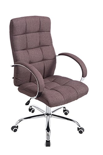 Best Saving for Office Chair Desk Chair Racing Chair Computer Chair Gaming chair with High Back PU Leather Executive (Mos Fabric Chair Brown) on Amazon