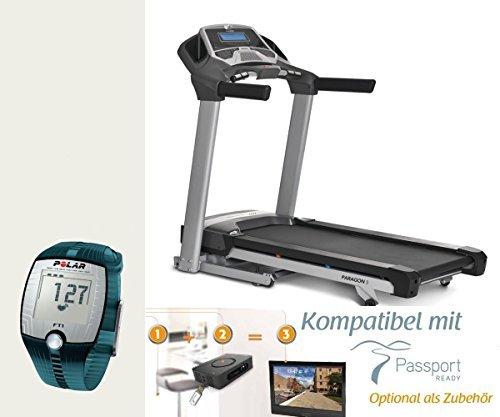 Paragon tapis roulant Horizon Fitness mod. 2015+ Polar cardiofrequenzimetro FT1