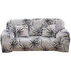 Elastische Sofa-Abdeckung, europäische Art 1 2 3 4 Sitzer-Beleg-Abdeckungs-Sofa-Couch-Dehnungs-elastischer Gewebe-Sofa-Schutz,alle Abdeckungs-rutschfeste Ledersofa-Tuch-Schonbezug stellte für vier ein