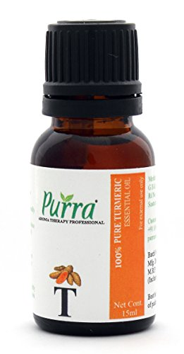 Purra Turmeric Oil - 100 % Pure , Natural & Undiluted - 15 ML