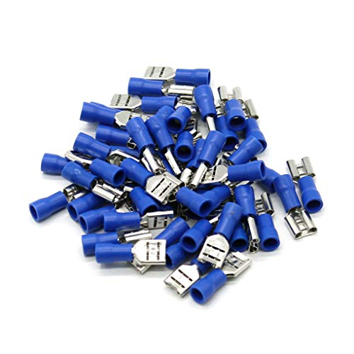 Luckiests 50pcs Insulated Steckverbinder Crimps elektrischen Draht Terminals Kit-Draht-Verbindungs   Set 16-14AWG