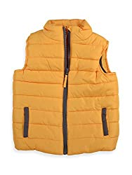 Mothercare Boys Jacket (F3548_Yellow_8 - 9 years)