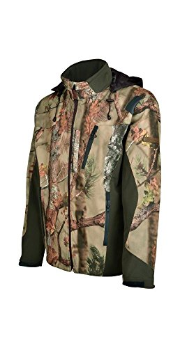 Percussion--Jacke Jagd Softshell ghostcamo Forest Gr. L, Camouflage-Design
