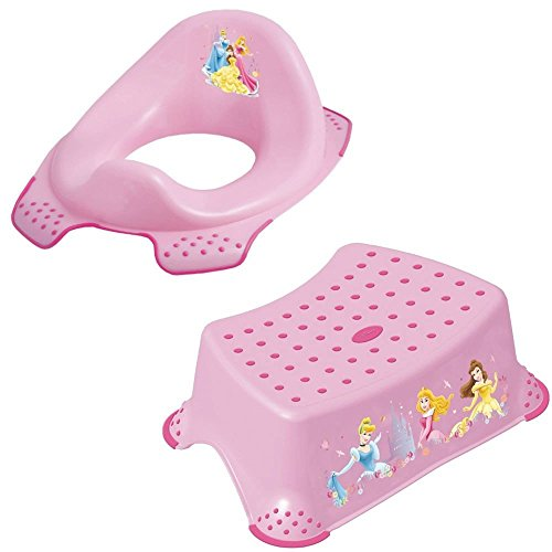 Admirable Disney Princess Step Stool And Toilet Seat Potty Set Combo Pabps2019 Chair Design Images Pabps2019Com