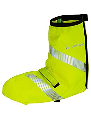 Vaude Wheeled Guêtre Mixte Adulte, Jaune Fluo, FR : 44-46 (Taille Fabricant : 44-46)