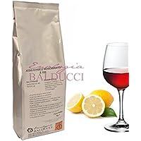 Hoppy Acido Citrico Monoidrato da 1 Kg Purissimo E330 Alimentare Integratore Vari Usi Alta Qualità Italiana