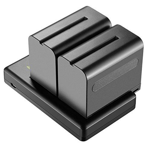 Neewer 2-Paquete 6600mAh Li-ion Batería Repuesto