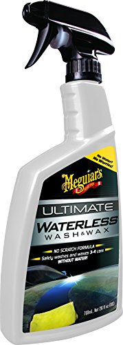 Meguiar\'s G3626EU Ultimate Waterless Wash & Wax Trockenwäsche, 768ml