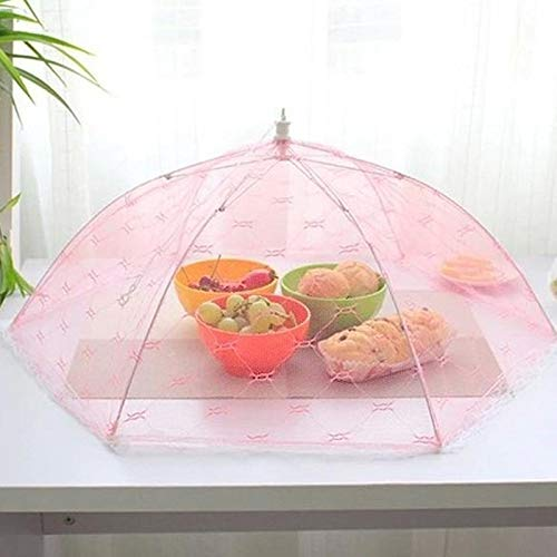 Generic Gauze Umbrella Food Cover Picnic Kitchen Anti Fly Mosquito Net Table Tent Meal Cover Table Mesh Food Cover Kitchen Tools