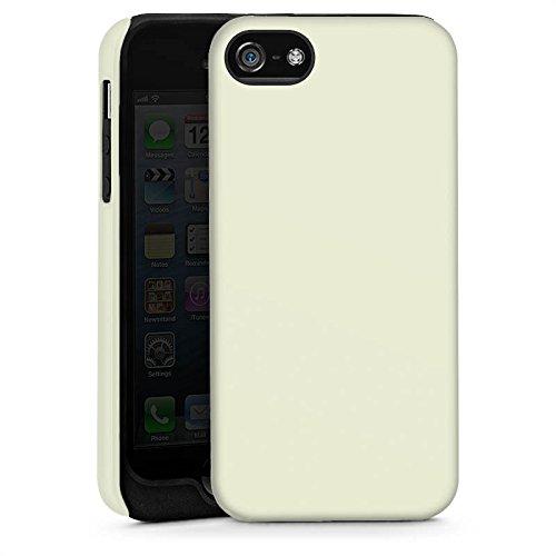 Apple iPhone 4 Housse Étui Silicone Coque Protection Vert pastel Vert Vert Cas Tough brillant