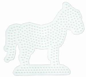 Desconocido Hama Perlen 281 - Pared perforada caballo
